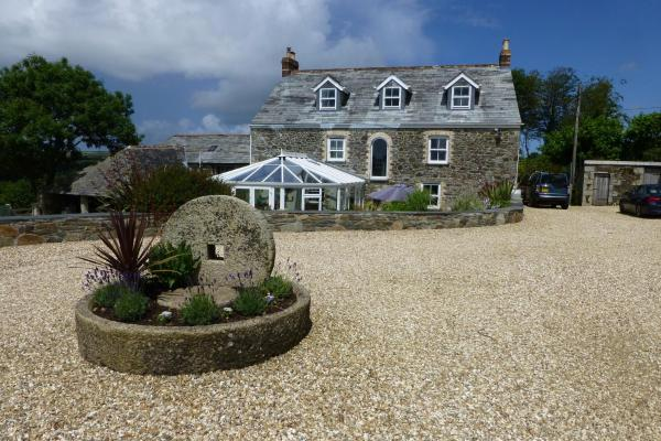 Treveighan Farmhouse in Saint Teath, Cornwall, England