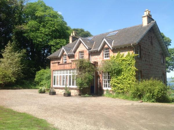 The Factor's House in Cromarty, Highland, Scotland
