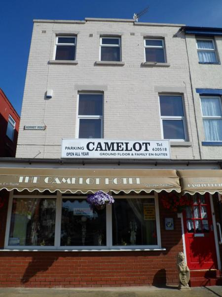 Camelot Hotel in Blackpool, Lancashire, England