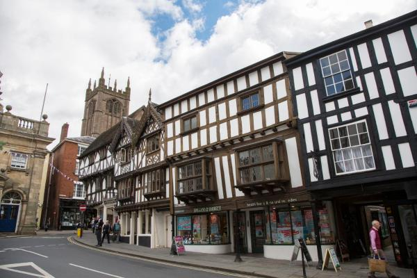 The Town House Ludlow in Ludlow, Shropshire, England