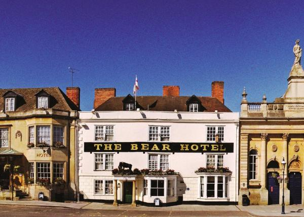 The Bear Hotel in Devizes, Wiltshire, England