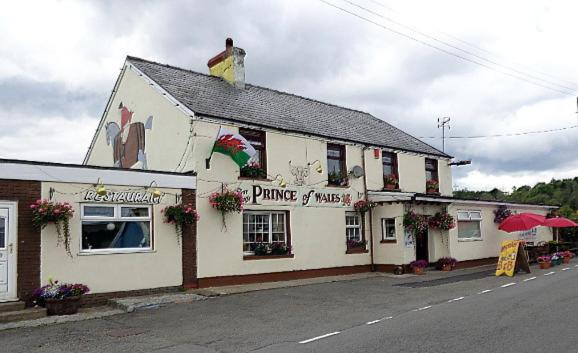 Prince of Wales Inn in Rhymney, Caerphilly, Wales