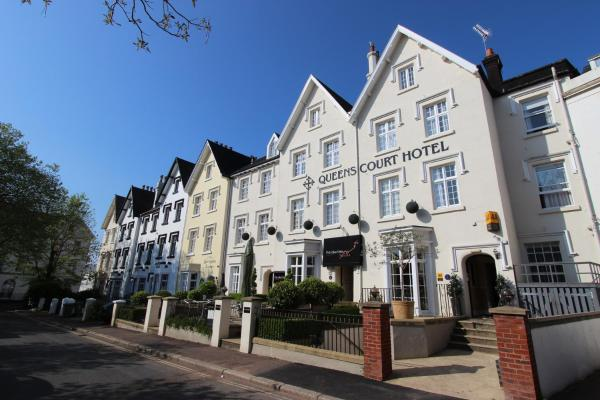 Queens Court Hotel in Exeter, Devon, England