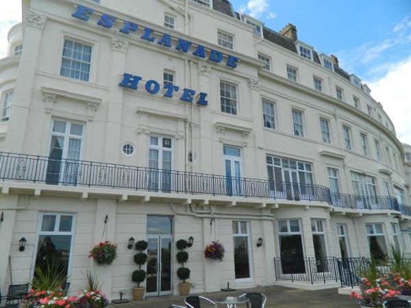 The Esplanade Hotel in Scarborough, North Yorkshire, England