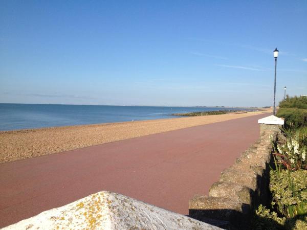 The Beach in Hythe, Kent, England