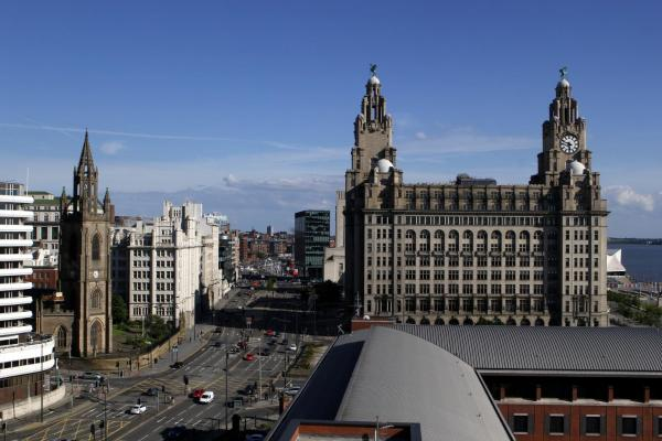 Liver View Apartment in Liverpool, Merseyside, England