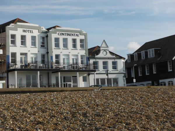 Hotel Continental in Whitstable, Kent, England
