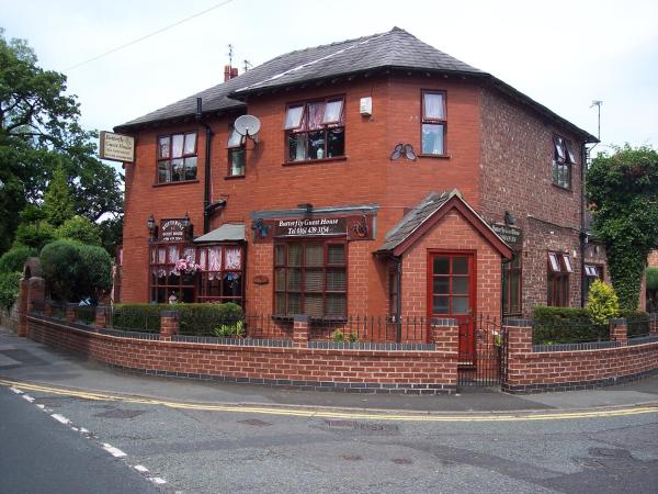 Butterfly Guest House in Cheadle, Greater Manchester, England