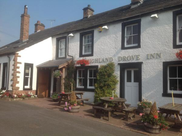 The Highland Drove Inn in Great Salkeld, Cumbria, England