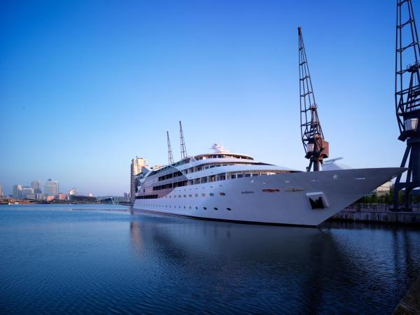 Sunborn London Yacht Hotel in London, Greater London, England