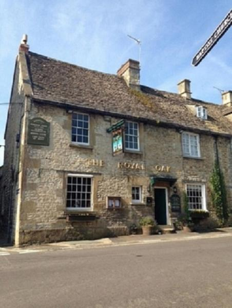 The Royal Oak Burford in Burford, Oxfordshire, England
