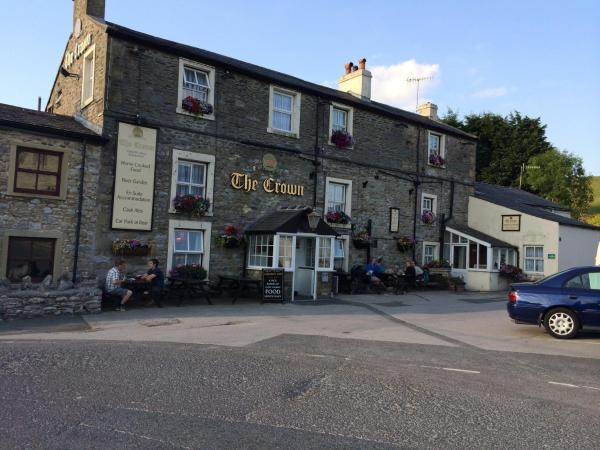 The Crown Hotel in Horton in Ribblesdale, North Yorkshire, England