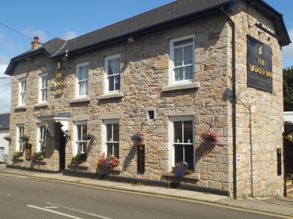 The Badger Inn in Carbis Bay, Cornwall, England