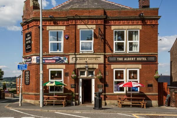 Albert Hotel Disley in Disley, Cheshire, England