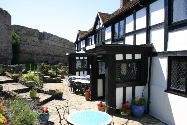 The Priory Court Hotel in Pevensey, East Sussex, England