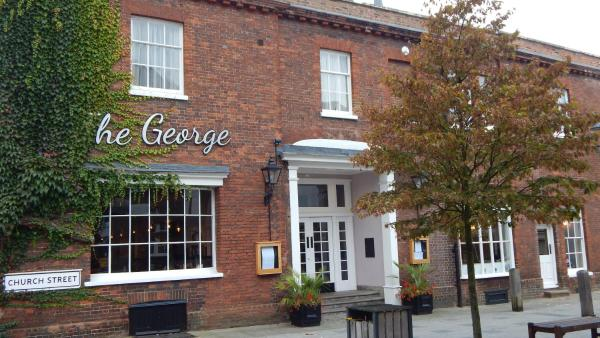 The George at Baldock Boutique Hotel in Baldock, Hertfordshire, England