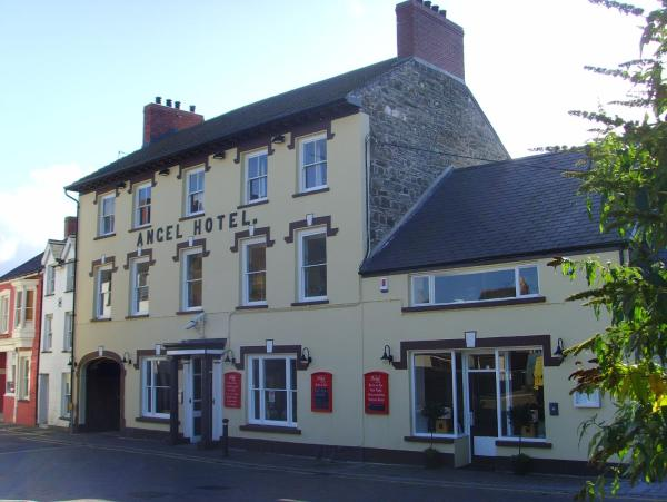 The Angel Hotel in Cardigan, Ceredigion, Wales