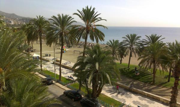 Málaga Frente al mar