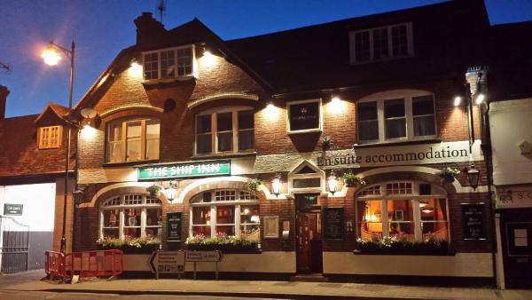 The Ship Inn in Fordingbridge, Hampshire, England