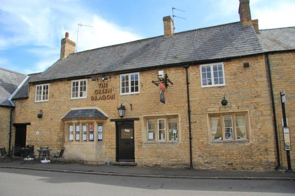 Green Dragon in Brigstock, Northamptonshire, England