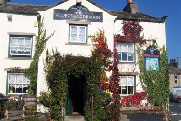 George & Dragon in Aysgarth, North Yorkshire, England