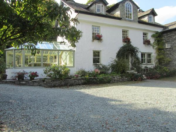 Walker Ground Manor in Hawkshead, Cumbria, England
