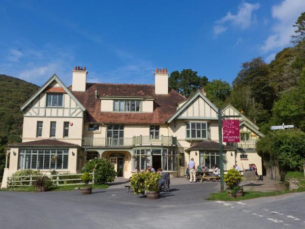 The Hunters Inn in Martinhoe, Devon, England