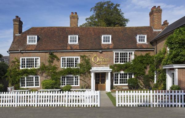 The Queen's Inn in Hawkhurst, Kent, England
