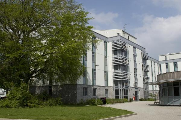 Keynes College, University of Kent in Canterbury, Kent, England
