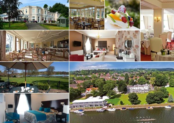 Phyllis Court Club in Henley on Thames, Oxfordshire, England