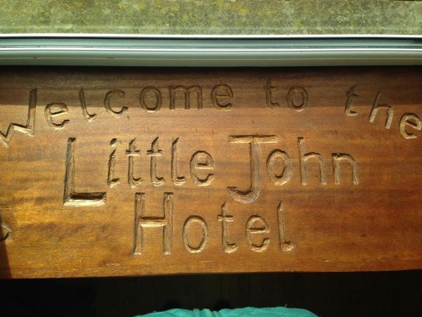 Little John Hotel in Hathersage, Derbyshire, England