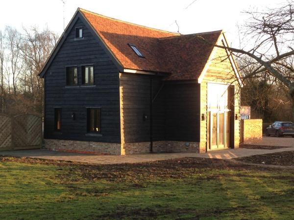 Whitehill Barn at Home Farm in Welwyn, Hertfordshire, England
