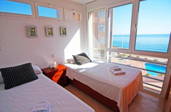 Apartment with garden in Calpe