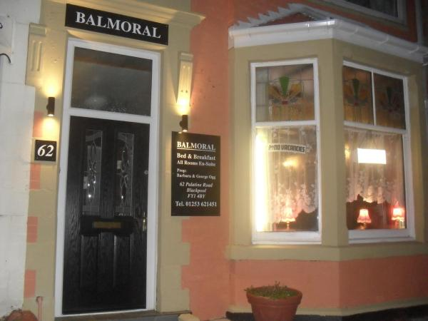 Balmoral Guest House in Blackpool, Lancashire, England