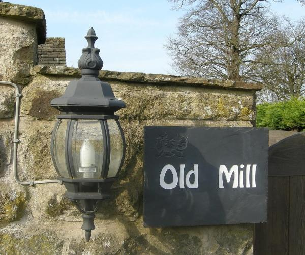 B & B at Old Mill in Baslow, Derbyshire, England
