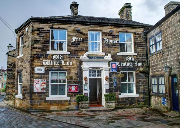 The Old White Lion Hotel in Haworth, West Yorkshire, England