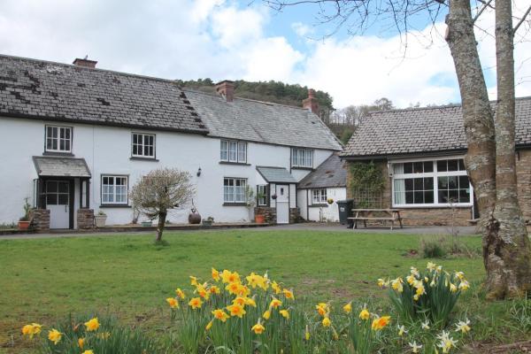 Riverside Cottage in Countisbury, Devon, England