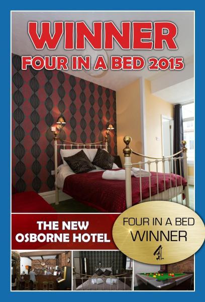 The New Osborne Hotel in Blackpool, Lancashire, England