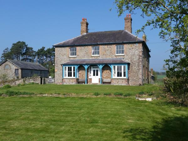 Upper Letton Farmhouse in Leintwardine, Herefordshire, England