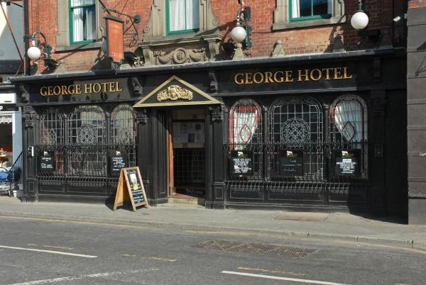 The George Hotel in Whitby, North Yorkshire, England