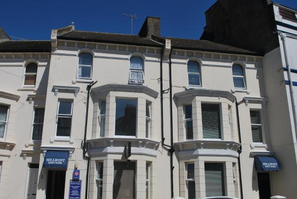 Millifont Guest House in Hastings, East Sussex, England