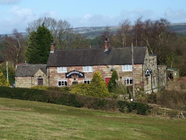 Peakstones Inn in Oakamoor, Staffordshire, England