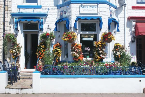 Merivon guest house in Great Yarmouth, Norfolk, England