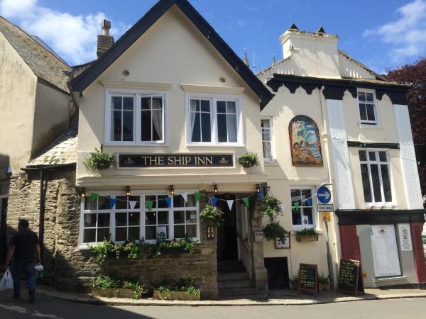 The Ship Inn in Fowey, Cornwall, England