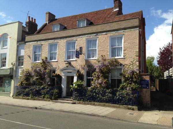 Wisteria House in Lymington, Hampshire, England