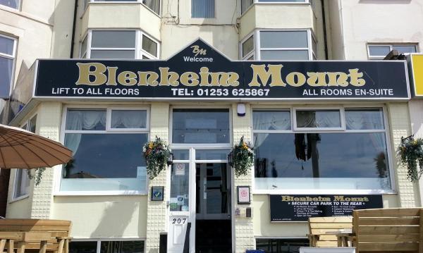The Blenheim Mount Hotel in Blackpool, Lancashire, England