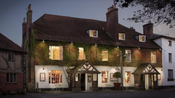 The Leicester Arms Hotel in Penshurst, Kent, England