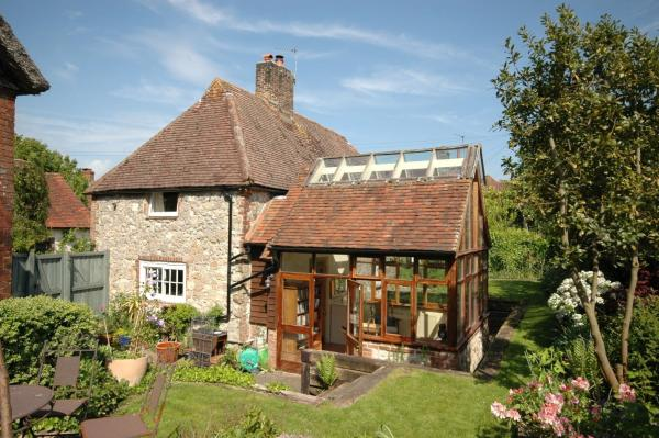 Garden Cottage in Amberley, West Sussex, England