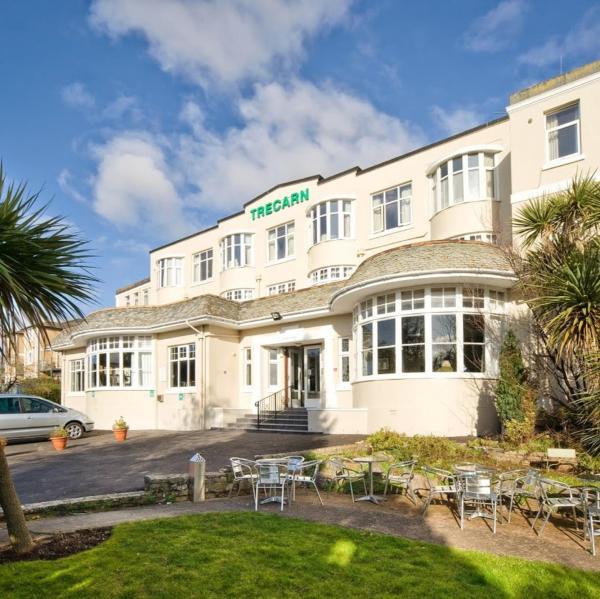 Trecarn Hotel in Torquay, Devon, England