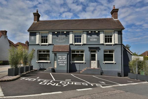 The Goudhurst Inn in Goudhurst, Kent, England